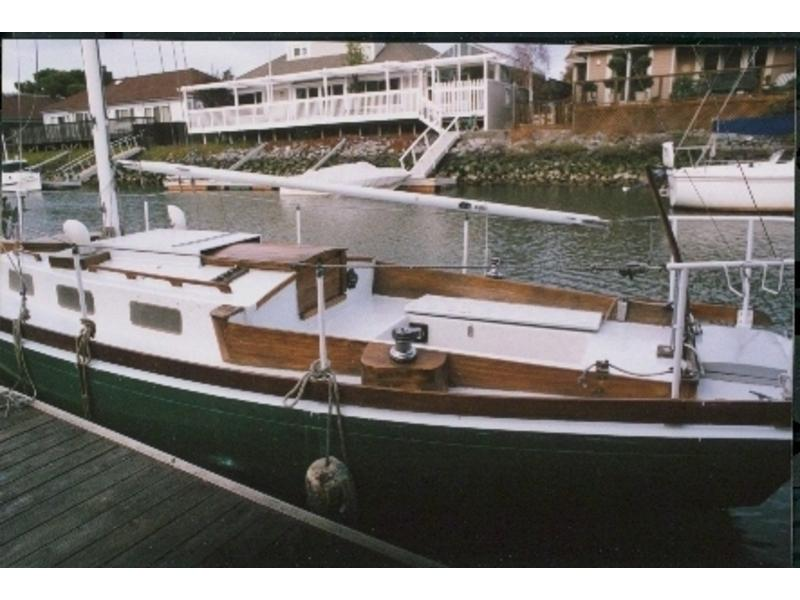 1965 sparkman and stephens-oday dolphin 24