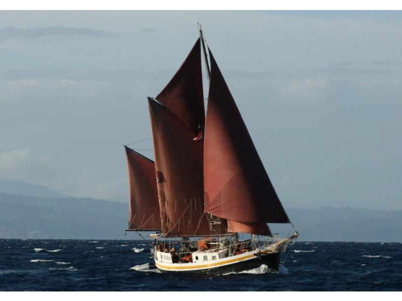 1971 Colin Archer Type Gaff Rigged Ketch | Most Sailboats