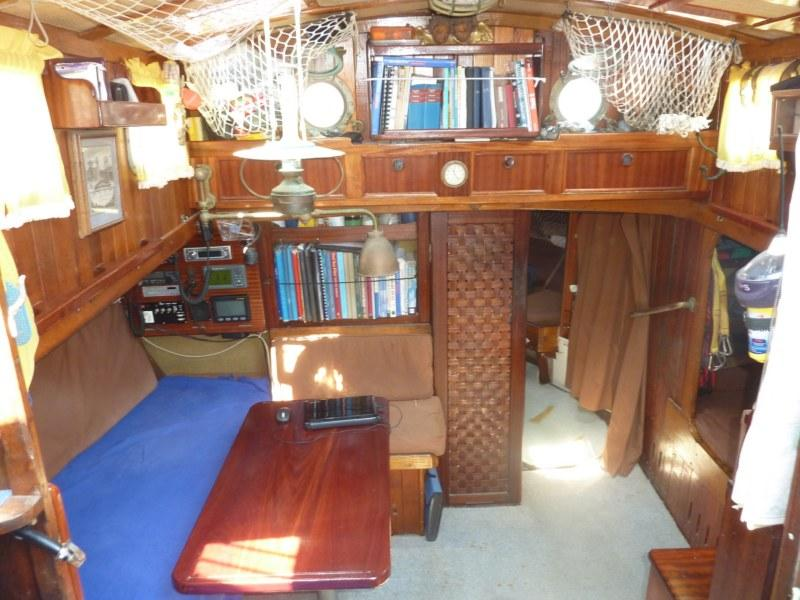 1971 Colin Archer Type Gaff Rigged Ketch Most Sailboats