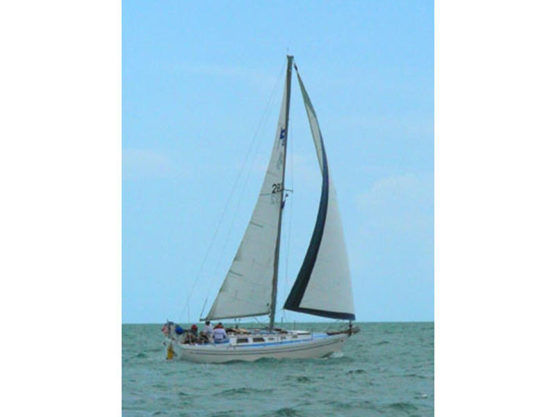 COLUMBIA C-30 SAILING SLOOP