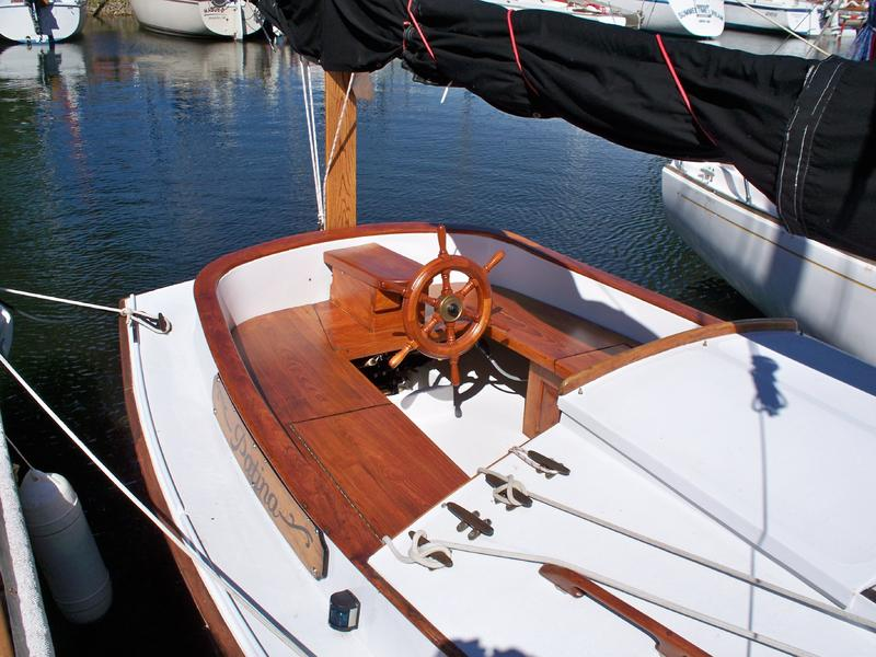 Herreshoff sailboats for Greenes boat and motor
