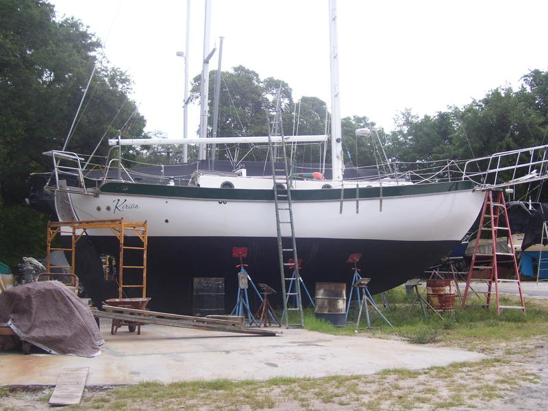 Westsail Sailboat