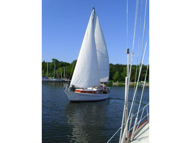 German Shipyard Built Steel Sloop Motorsailer 9mtr