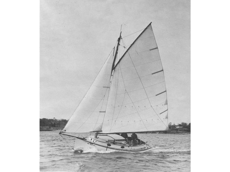 Marshall 22 Sloop