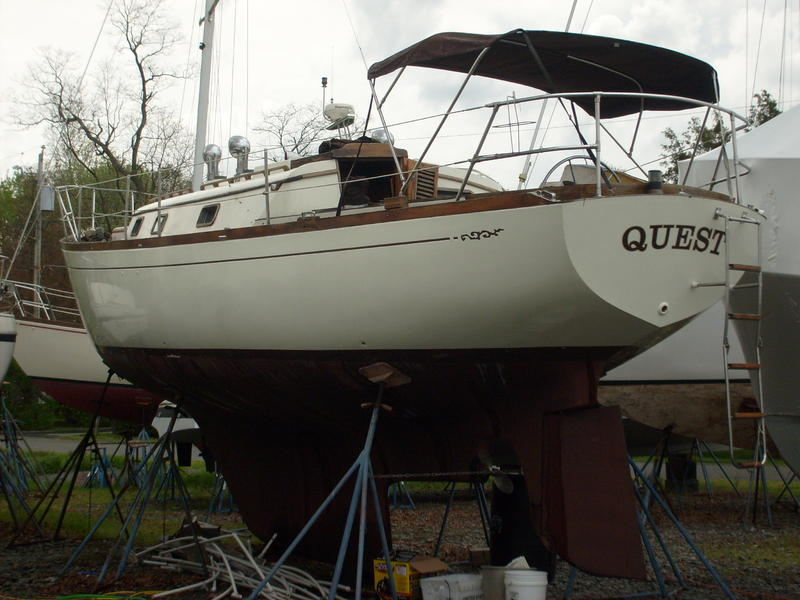 Cheoy Lee 38 Offshore Sailboat