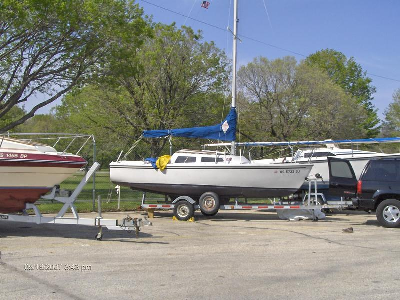 Catalina C-22  Swing Keel