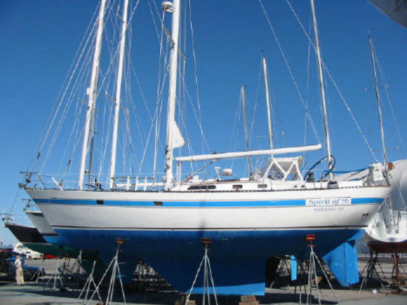 1983 Lafitte 44 Offshore New Yanmar Turbo Diesel Most
