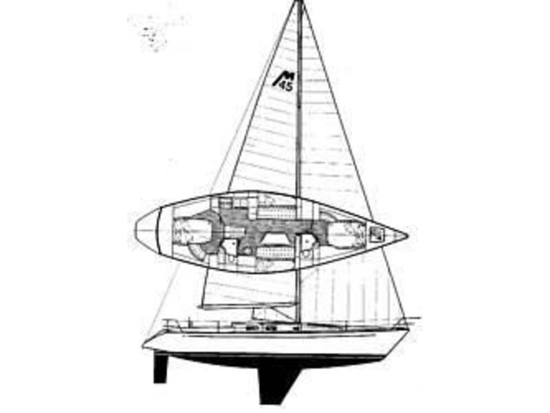 Nelson Marek Racing Sloop