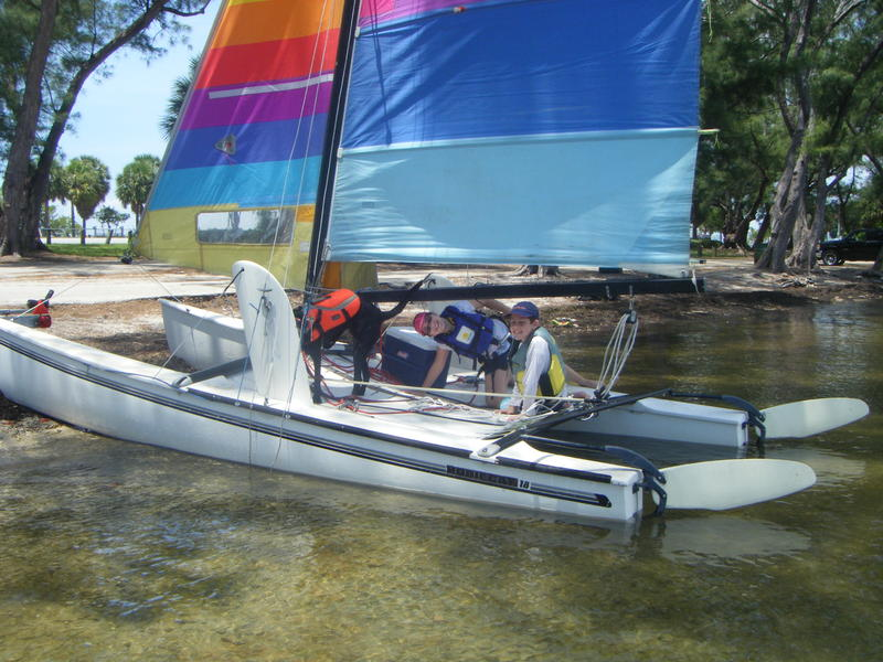 Hobie Cat Sailboats