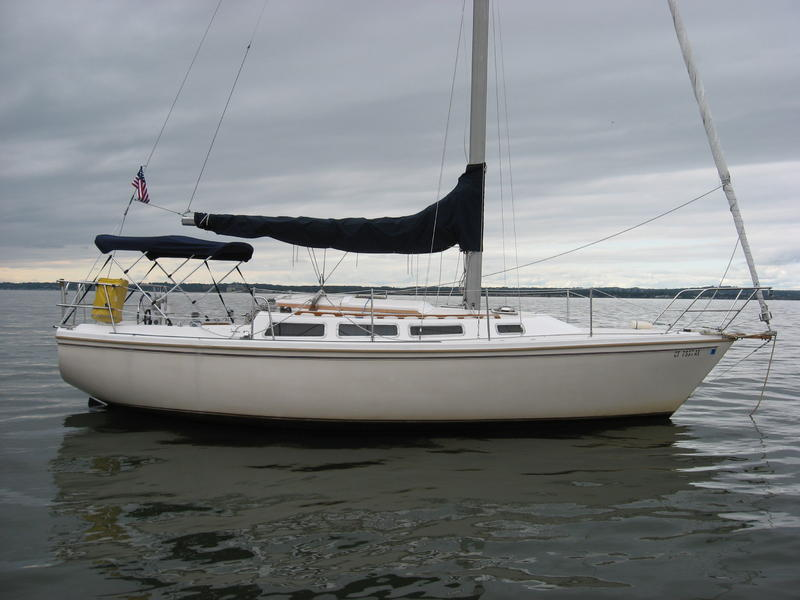 Catalina C 30 tall rig