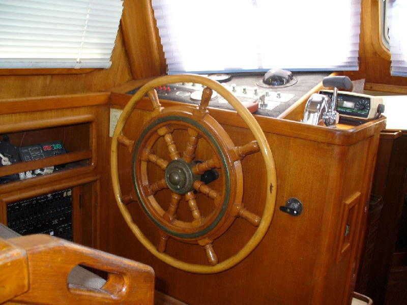 Cheoy Lee Pilothouse
