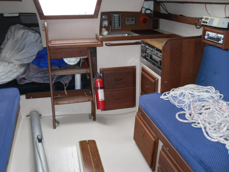 Catalina 25 Swing Keel