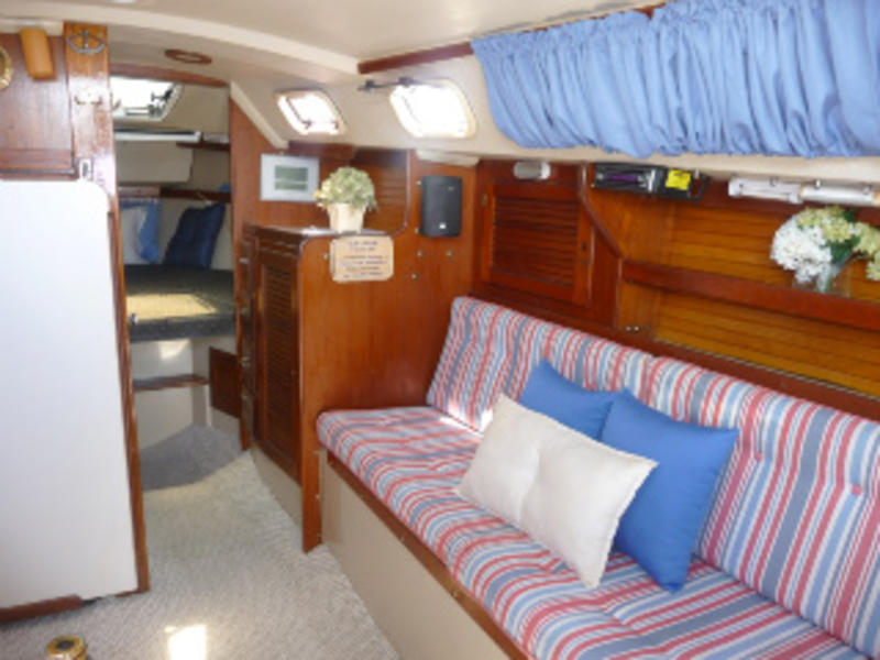 catalina MKII tall rig wing keel, bow sprit
