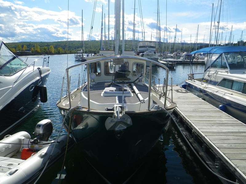 Fisher 31 motorsailer