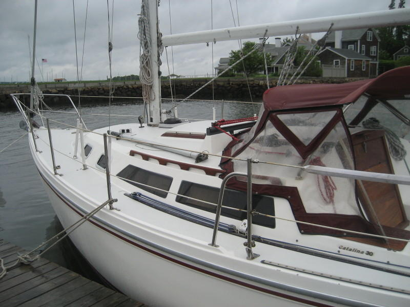 Catalina - walkthru transom Mk II - Wing Keel