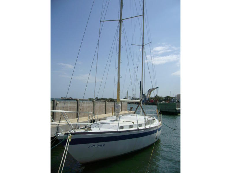 Bruce Roberts 43 ft Steel Mauritius Ketch