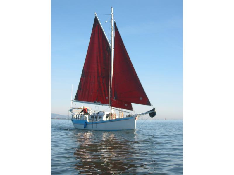 Custom Gaff Rigged Cutter