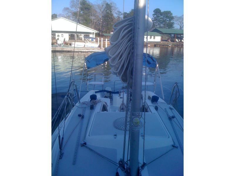 Catalina 250 wing keel