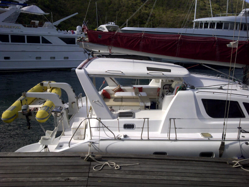 robertson and caine moorings 48