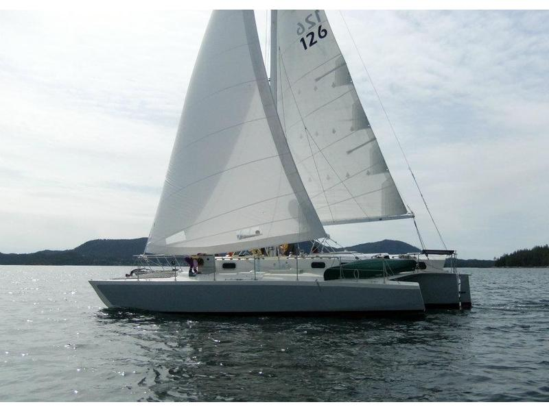 Custom Jim Brown designed Searunner 40 trimaran