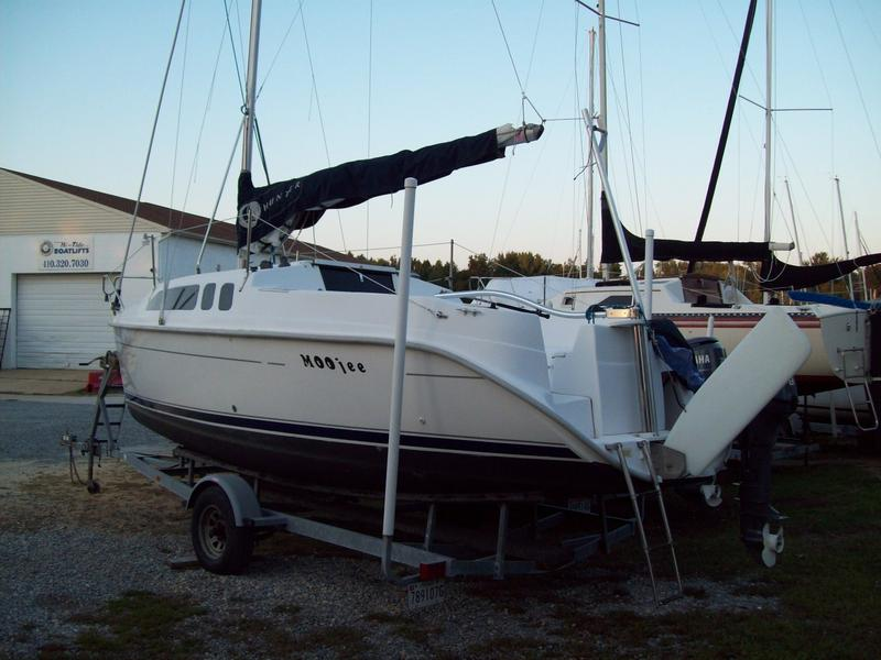 2004 Hunter Marine 240