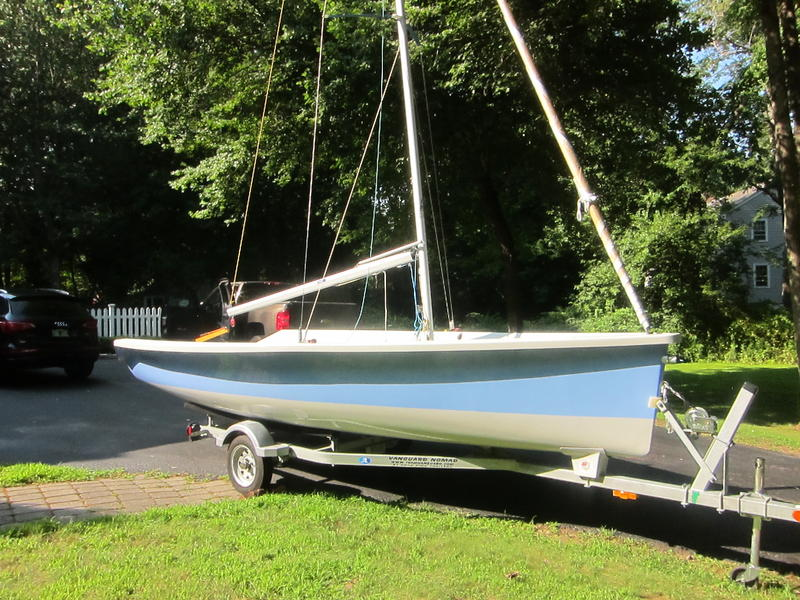 VANGUARD SAILBOATS NOMAD WITH TRAILER