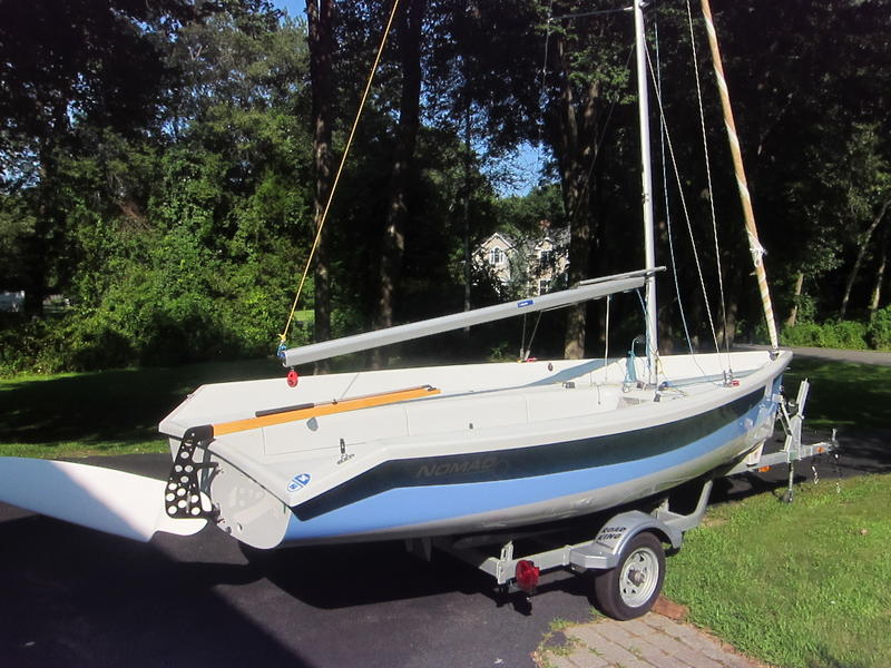2008 VANGUARD SAILBOATS NOMAD WITH TRAILER