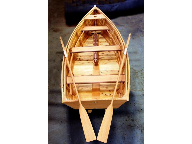 Great Lakes Boat Building School Atkins design cat boat