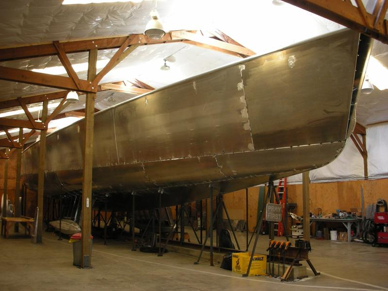 Under Construction 3 Masted Schooner
